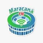 Logo da emissora Rádio Maracanã FM