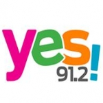 Logo da emissora Radio Yes! 91.2 FM