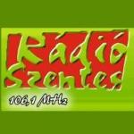 Logo da emissora Rádio Szentes 106.1 FM
