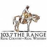 Logo da emissora Radio KVRG 103.7 FM