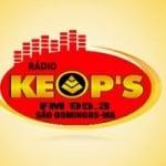 Logo da emissora Rádio Keops FM
