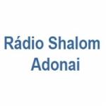 Logo da emissora Rádio Shalom Adonai