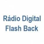 Logo da emissora Rádio Digital Flash Back