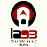 Logo da emissora Radio La 93.3 FM
