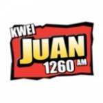 Logo da emissora KWEI 1260 AM