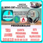 Logo da emissora Web Rádio Resgate