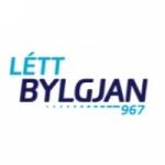 Logo da emissora Lett Bylgjan 96.7 FM
