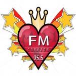 Logo da emissora Radio Corazón 92.7 FM