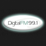 Logo da emissora Radio Digital 99.1 FM