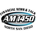 Logo da emissora KFSD 1450 AM