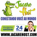Logo da emissora Rádio Jacaré Host