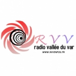 Logo da emissora RVV - Radio Vallée Du Var
