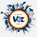 Logo da emissora Radio Voz 106.9 FM