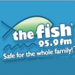 Logo da emissora KFSH 95.9 FM The Fish