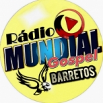 Logo da emissora Rádio Mundial Gospel Barretos
