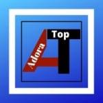 Logo da emissora Rádio Adora Top