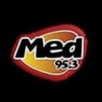 Logo da emissora Radio Med 95.3 FM