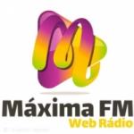Logo da emissora Rádio Máxima FM