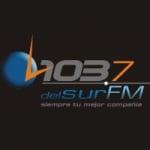 Logo da emissora Radio Del Sur 103.7 FM