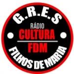Logo da emissora Rádio Cultura FDM