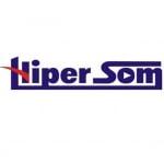 Logo da emissora Rádio Hiper Som