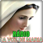 Logo da emissora Rádio A Voz de Maria