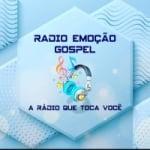 Logo da emissora Rádio Emoção Gospel