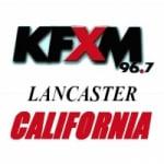 Logo da emissora Radio KFXM 96.7 FM