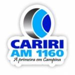Logo da emissora Rádio Cariri 1160 AM