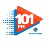 Logo da emissora Rádio Cariri 101.1 FM