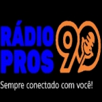 Logo da emissora Rádio Pros 90