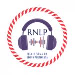 Logo da emissora Rádio Nova da Língua Portuguesa