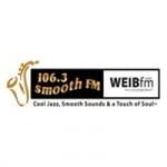 Logo da emissora Radio WEIB Smoth 106.3 FM