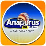 Logo da emissora Anapurus 102.9 FM