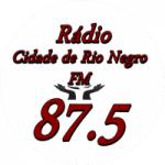 Logo da emissora Rádio Cidade de Rio Negro