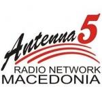 Logo da emissora Antenna 5 95.5 FM