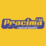 Logo da emissora Rádio Pracima FM
