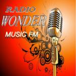 Logo da emissora Rádio Wonder Music FM