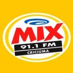 Logo da emissora Rádio Mix 91.1 FM