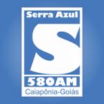 Logo da emissora Rádio Serra Azul 580 AM
