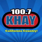 Logo da emissora Radio KHAY 100.7 FM