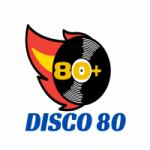 Logo da emissora Rádio Disco 80