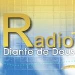 Logo da emissora Rádio Diante de Deus