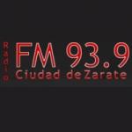 Logo da emissora Radio Ciudad 93.9 FM
