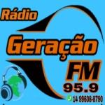 Logo da emissora Rádio Geração FM