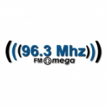 Logo da emissora Radio Omega 96.3 FM