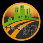 Logo da emissora Radio Ciudad 104.7 FM