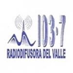 Logo da emissora Radio Difusora del Valle 103.7 FM