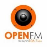 Logo da emissora Radio Open 106.7 FM
