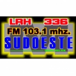 Logo da emissora Radio Sudoeste 103.1 FM
